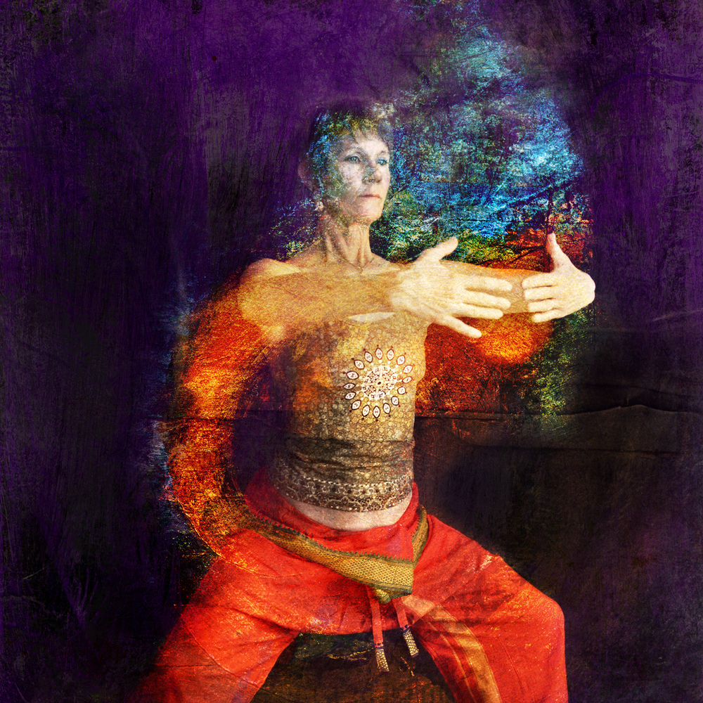 Abstract qigong practice