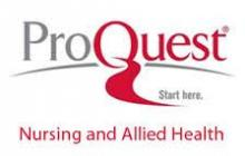 Proquest - Ebrary & Nursing and Allied Health