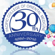 Pacific College of Oriental Medicine Celebrates 30th Anniversary
