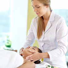 sinus massage to help with infections