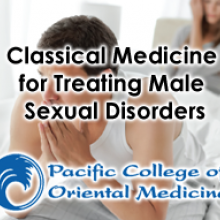 Classical Medicine for Treating Male Sexual Disorders