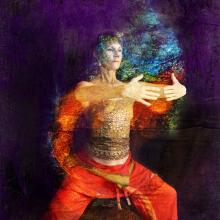 Abstract qigong practice