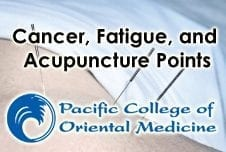 Cancer, Fatigue, and Acupuncture Points