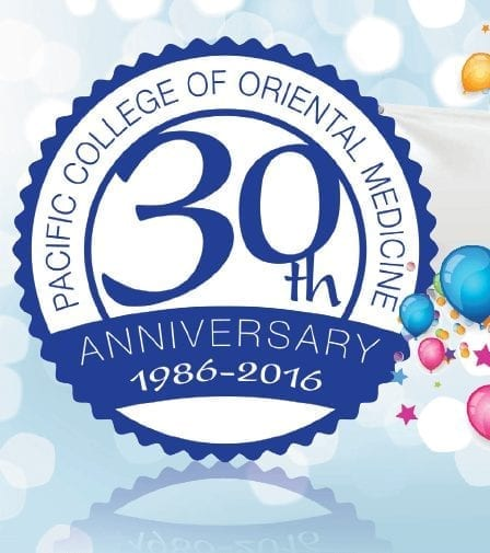 Pacific College of Oriental Medicine Celebrates 30th Anniversary