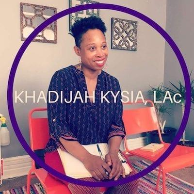 Kysia, Khadijah - LAc, MSTOM