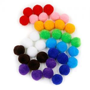 multi-colored balls