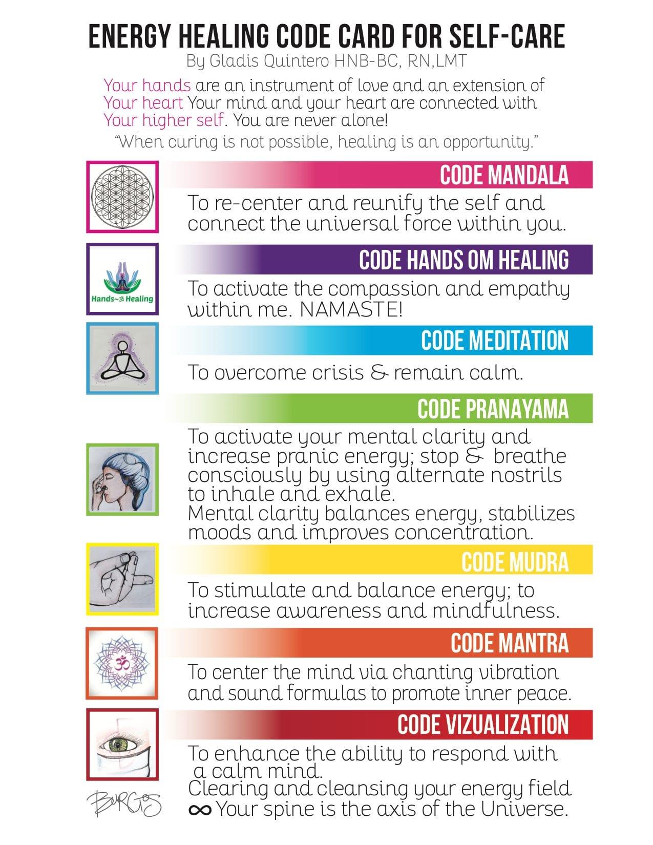 Energy Healing Code - Gladis Quintero