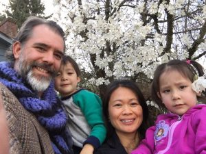A photo of Cole Magbanua and his family