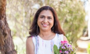 A headshot of Namrata Chansarkar