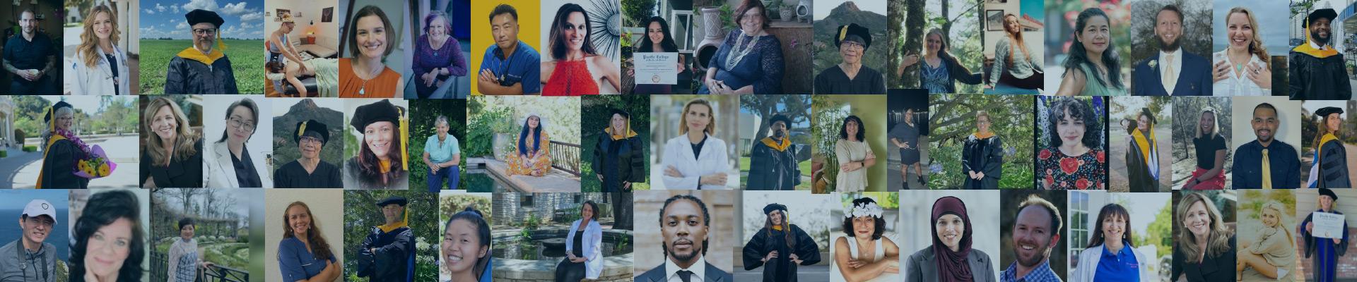 Pacific College graduation 2021